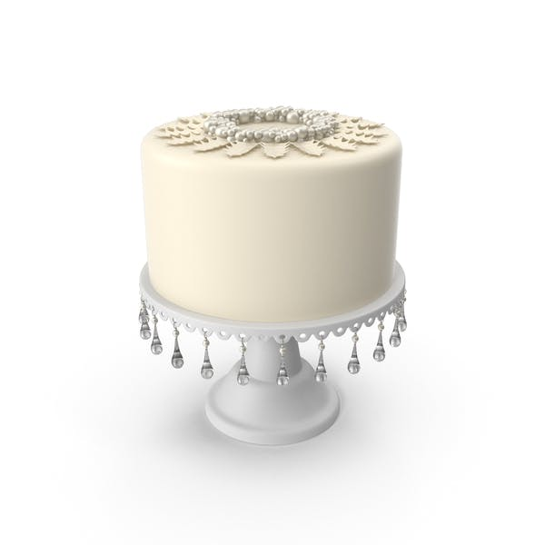 Thumbnail for Wedding Cake for a Winter Wedding