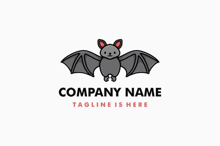 Thumbnail for Cute Bat Cartoon Logo