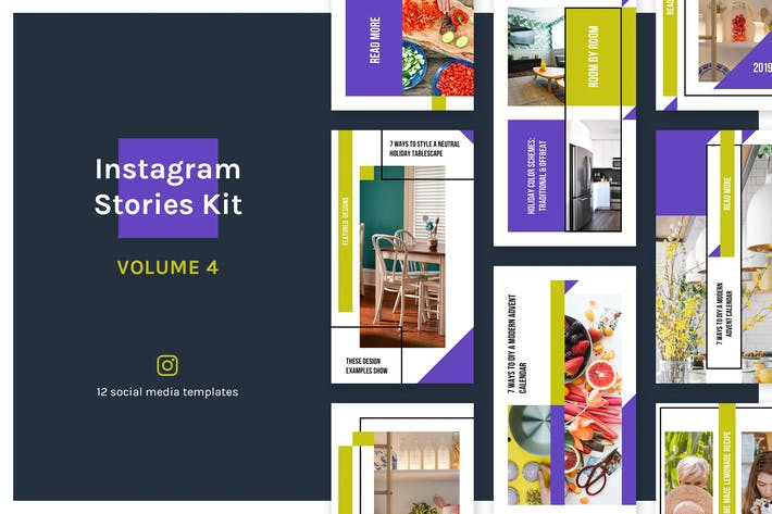 Thumbnail for Instagram Stories Kit (Vol.4)