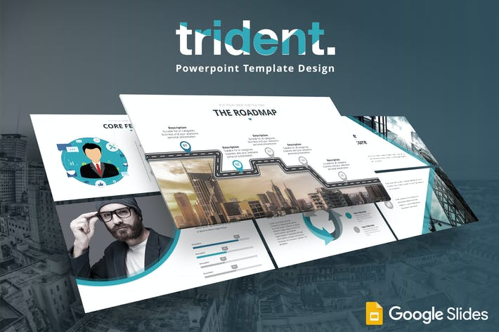 Thumbnail for Trident - Google Slides Template