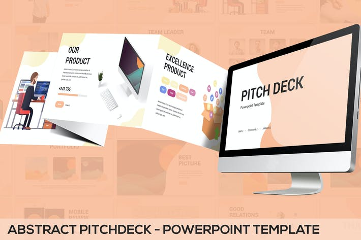 Thumbnail for Abstract Pitchdeck - Powerpoint Template