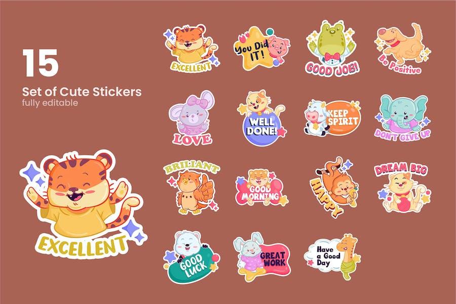Cute Sticker