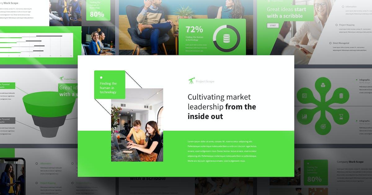 Download Scope - Business Report Keynote Template by Slidehack