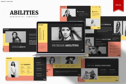 Increase Abilities   Powerpoint Template
