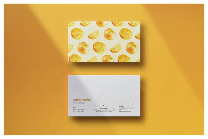 Thumbnail for Food Business Card - Vol.2
