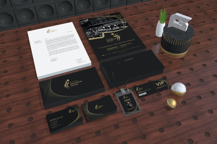 Award Ceremony Package Identity
