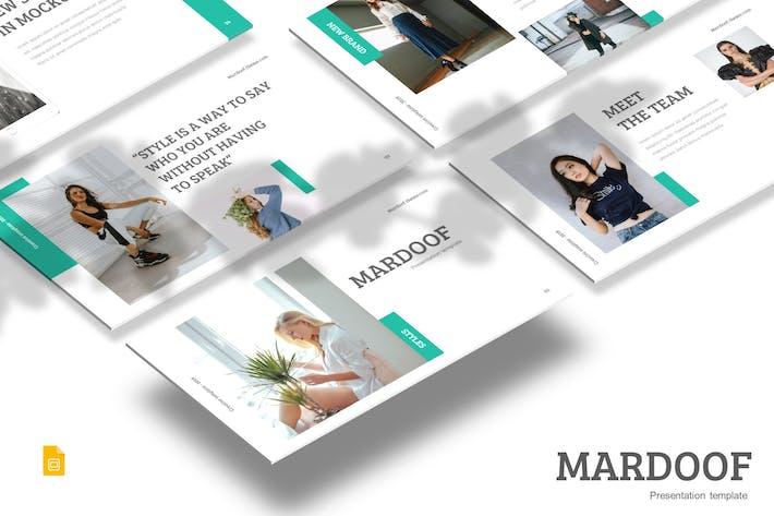 Thumbnail for Mardoof - Google PräsentationsVorlage