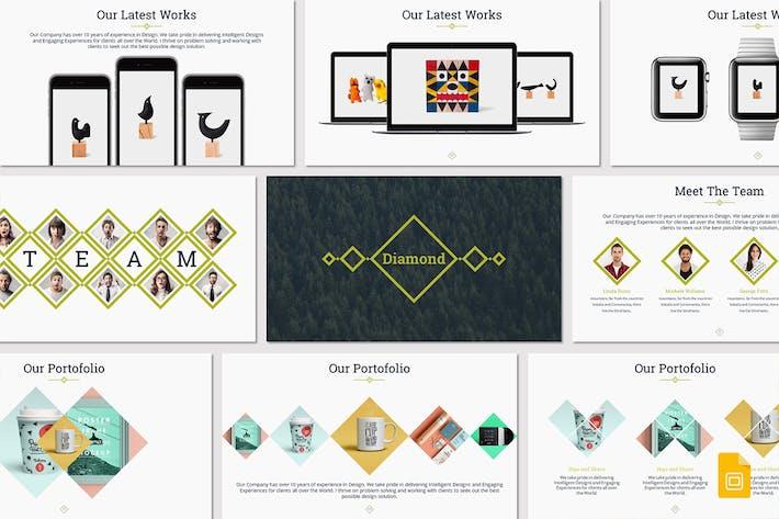Cover Image For Diamond - Google Slides Template