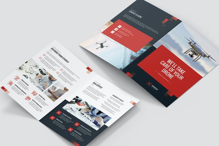 Thumbnail for Brochure – Drone Service Bi-Fold
