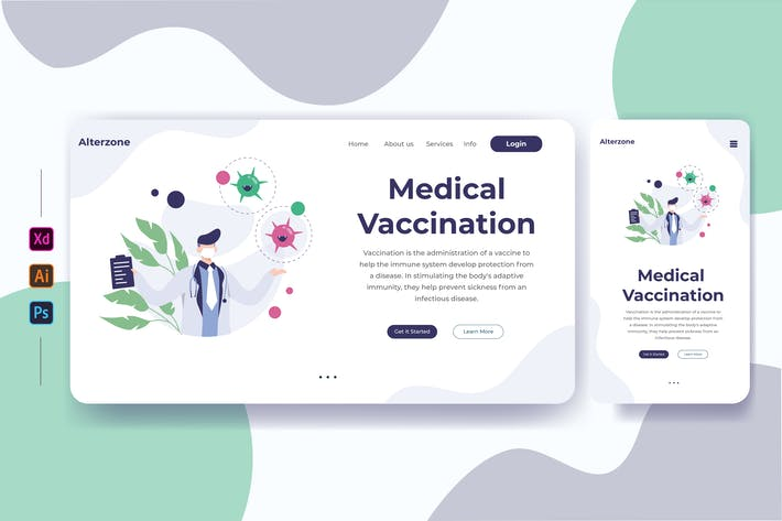 Thumbnail for Medical Vaccination 02 - Landing page