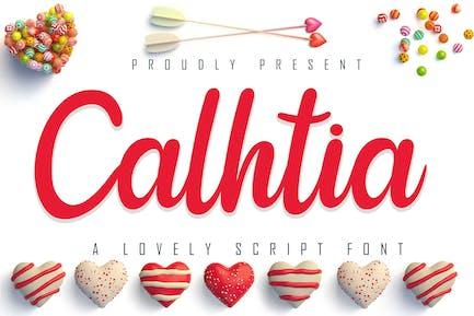 Calhtia Belle écriture