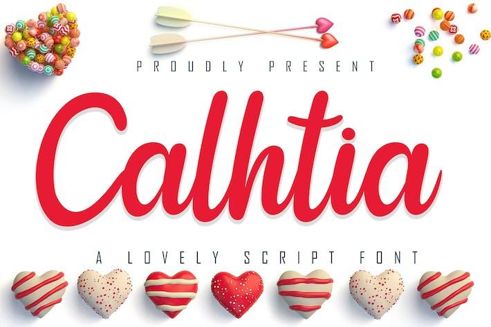 Thumbnail for Calhtia Lovely Script