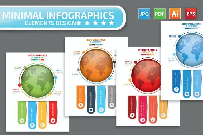 Thumbnail for Globales Infografik-Design