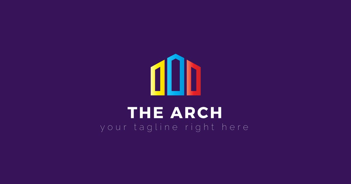 Download The Arch - Architecture & Construction Logo Templa by ThemeWisdom