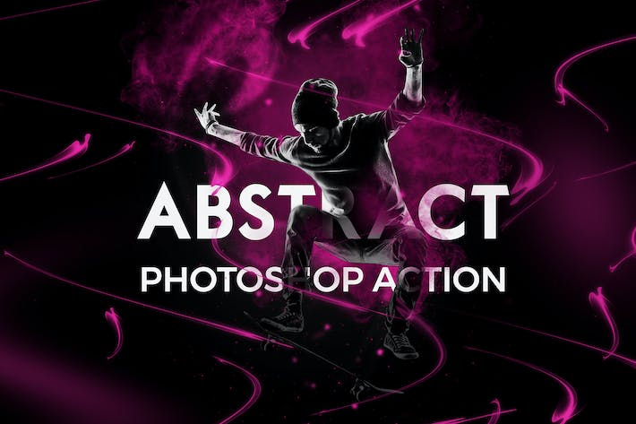 Thumbnail for Abstract Photoshop Action