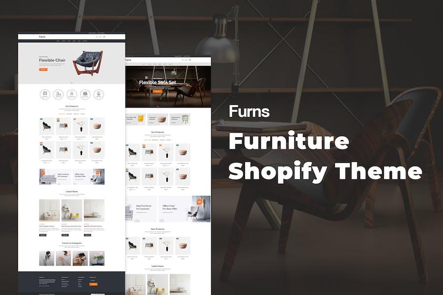 Furns - Tema Shopify para muebles