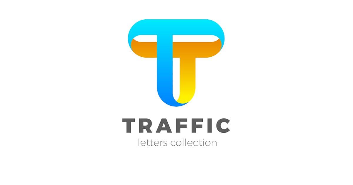 Download Letter T Logo design 3D Ribbon style by Sentavio