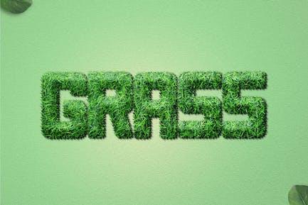 Grass Text Effects