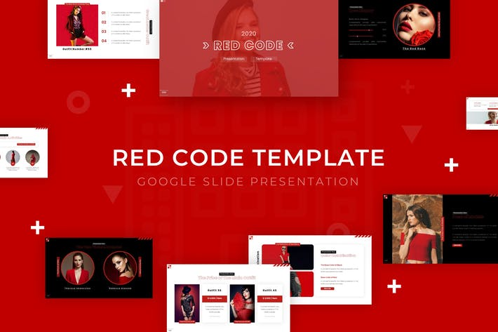 Red Code - Google Slide Template