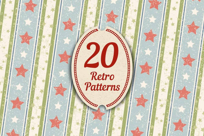 Thumbnail for 20 Retro Patterns
