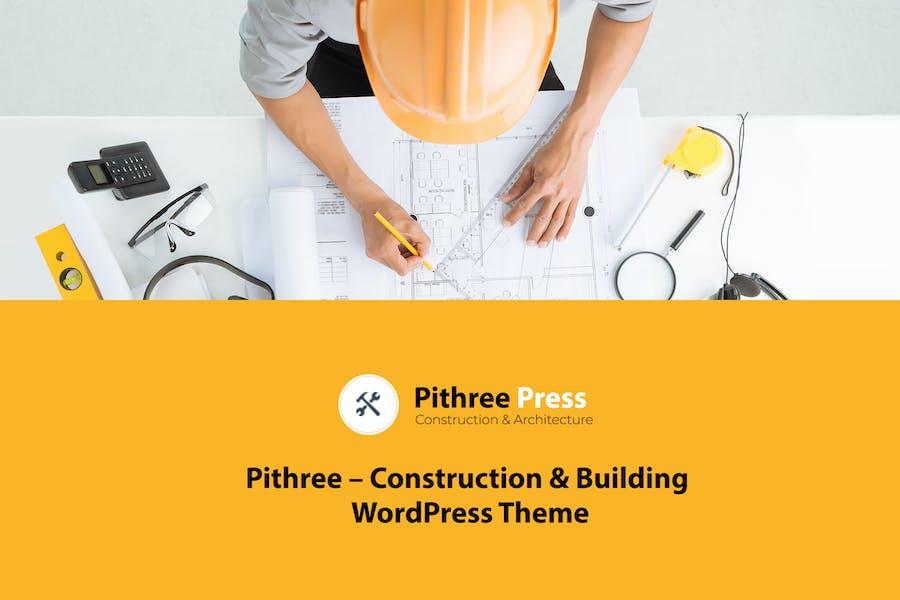 Pithree – Construction & Building WordPress Theme