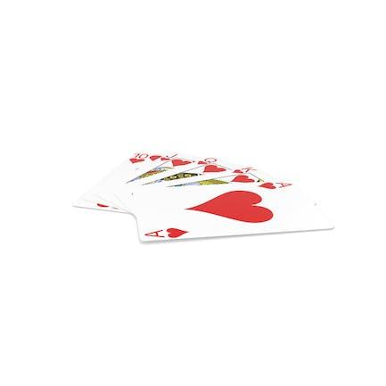 Poker Royal Escalado recto