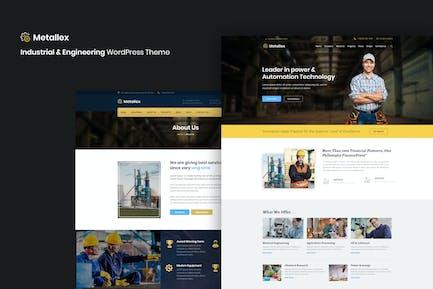 Metallex - Industrial And Engineering WordPress