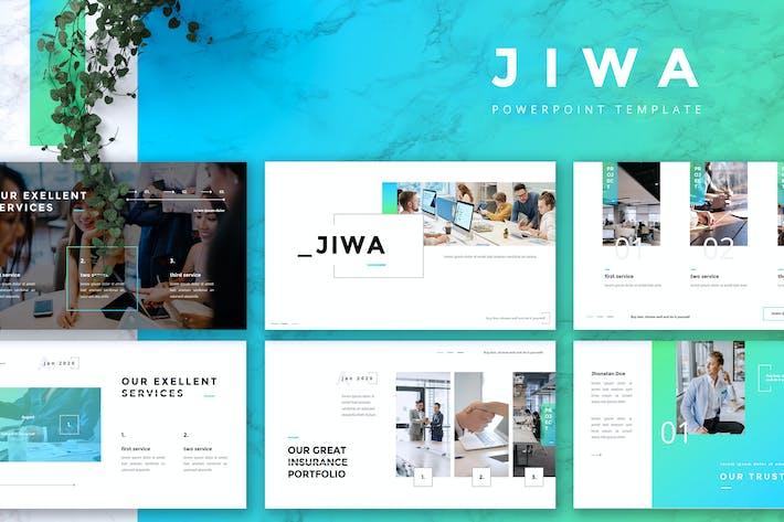 Thumbnail for JIWA - Insurance Service Powerpoint Template