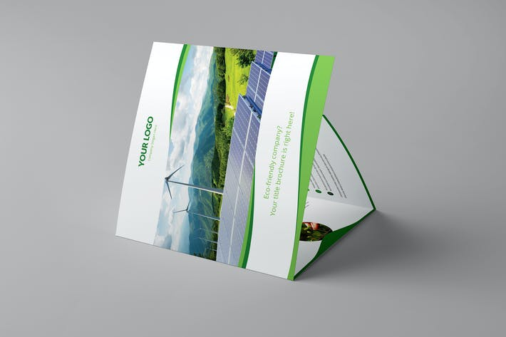 Thumbnail for Brochure – Wave Multipurpose Tri-Fold Square