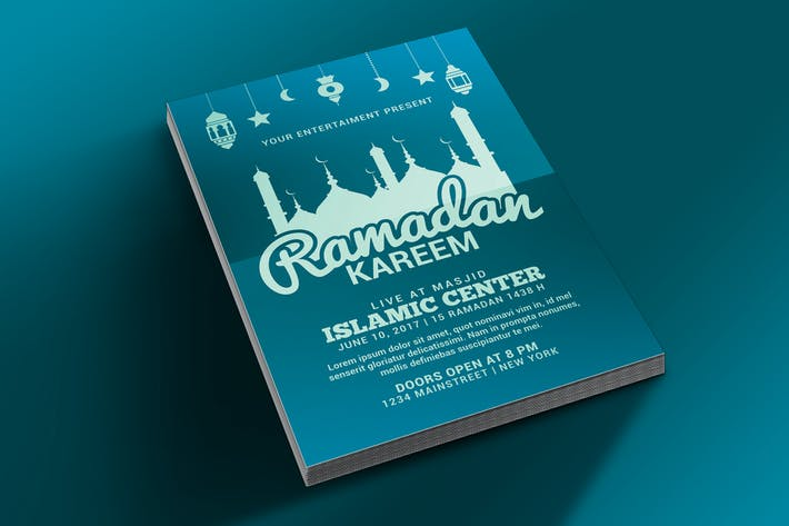 Thumbnail for Ramadan Kareem Flyer