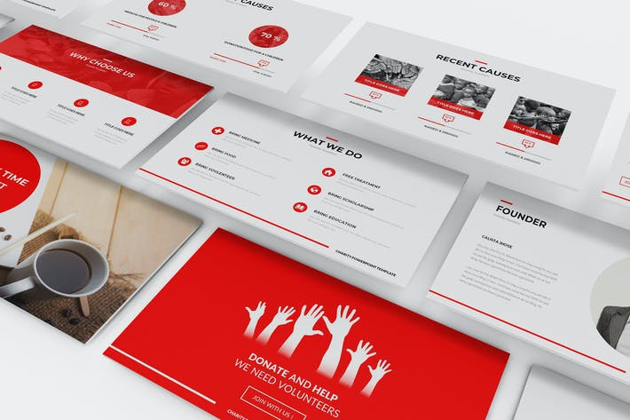Incools envato elements charity powerpoint template toneelgroepblik Image collections
