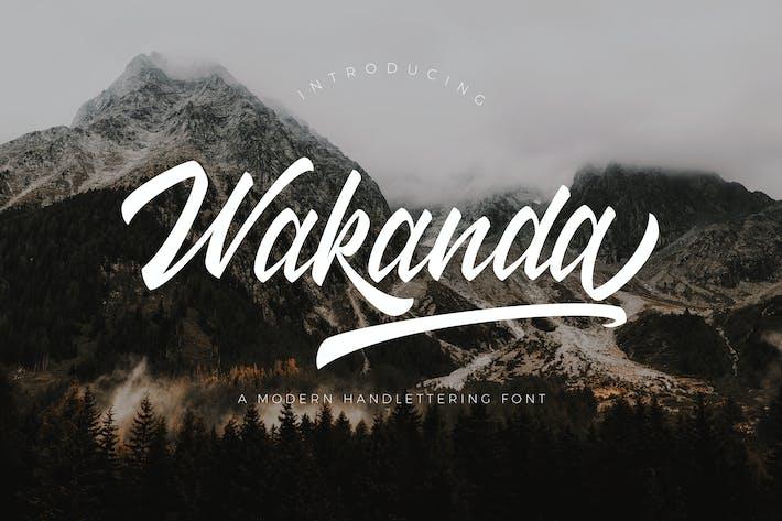 Thumbnail for Wakanda Script