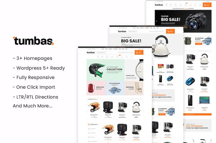 Thumbnail for Tumbas - Responsive WooCommerce WordPress Theme