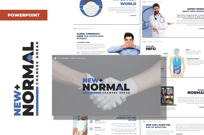 Thumbnail for New Normal - Health Powerpoint Template