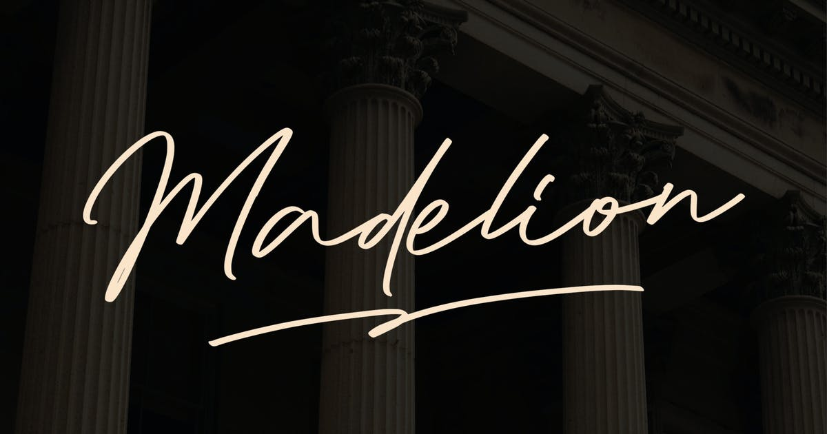 Download Madelion Signature by indotitas