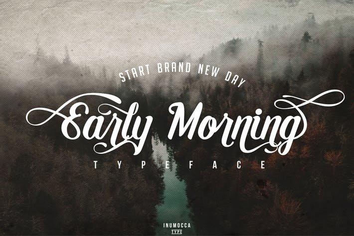 Thumbnail for Early Morning Typeface
