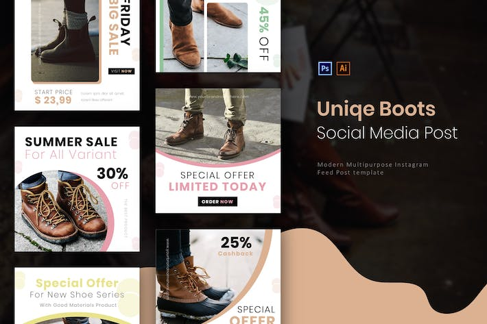 Thumbnail for Uniqe Boots | Socmed Post