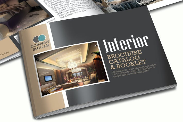 Thumbnail for A5 Interior Booklet/Brochure Template Vol 1