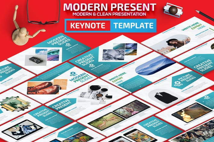 Thumbnail for Moderne Keynote Vorlage
