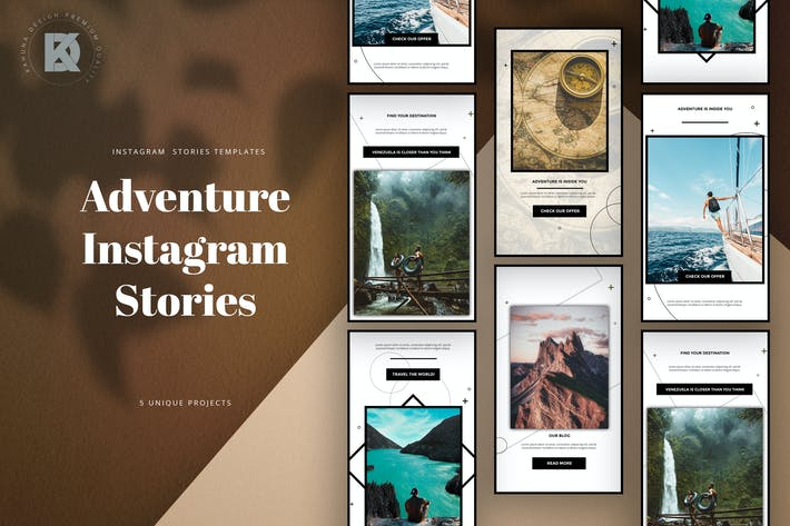 Thumbnail for Adventure Instagram Stories Pack