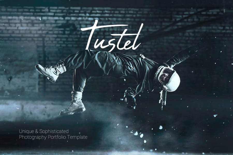 Tustel - Photography Portfolio HTML Template