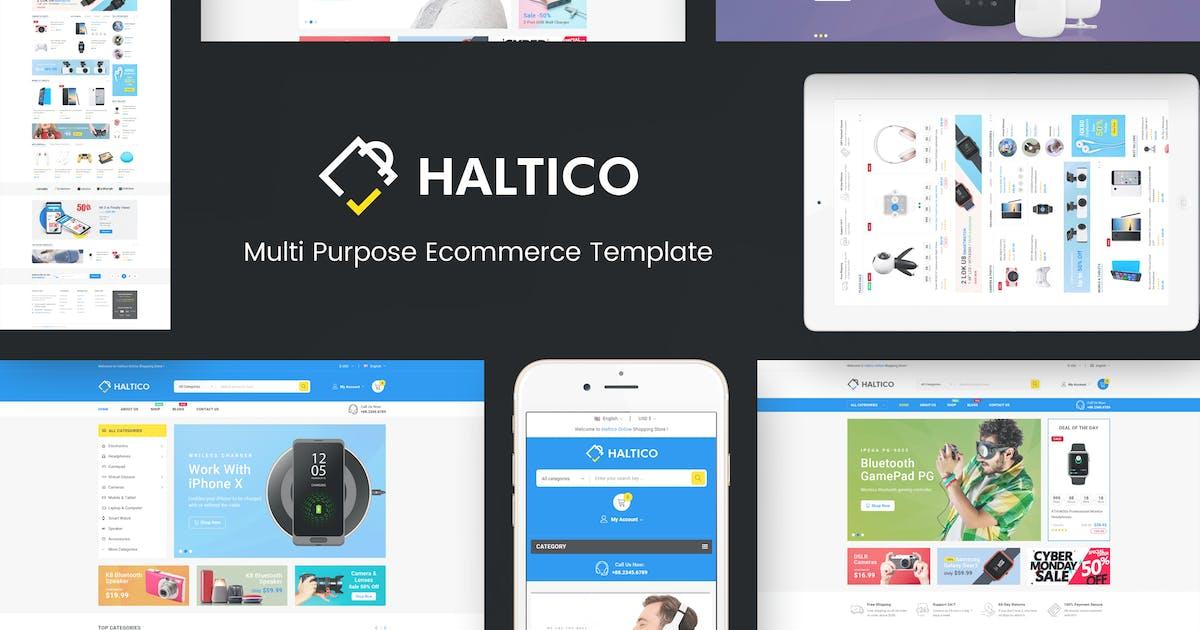 Download Haltico - Mega Store Prestashop Theme by Plaza-Themes
