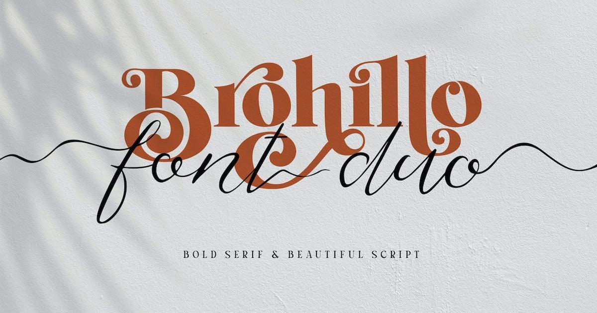 Download Brohillo Font Duo by alit_design