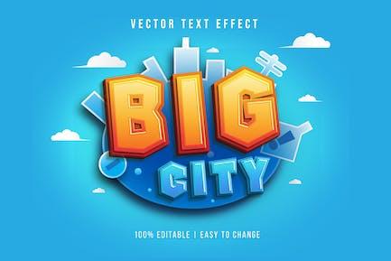 Big City - Gradient Text Effect