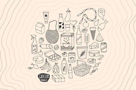 Grocery Doodles