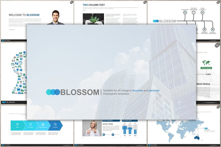 BLOSSOM Google Slides