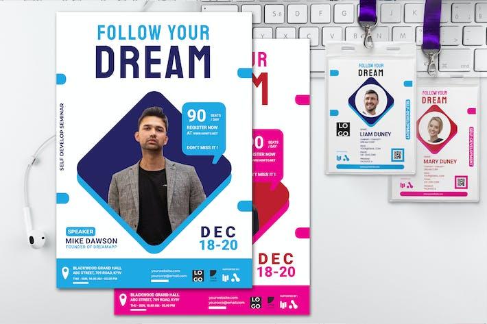 Follow Your Dream - Seminar Invitation