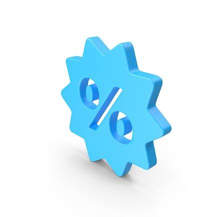 Sale Discount Web Icon