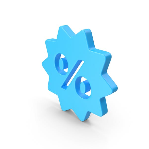 Sale Discount Web Icon