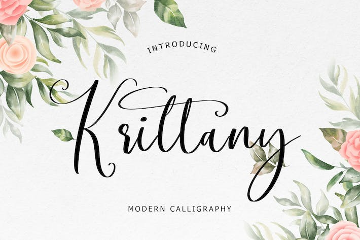 Krittany Calligraphie moderne